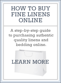 How to Buy Fine Linens Online