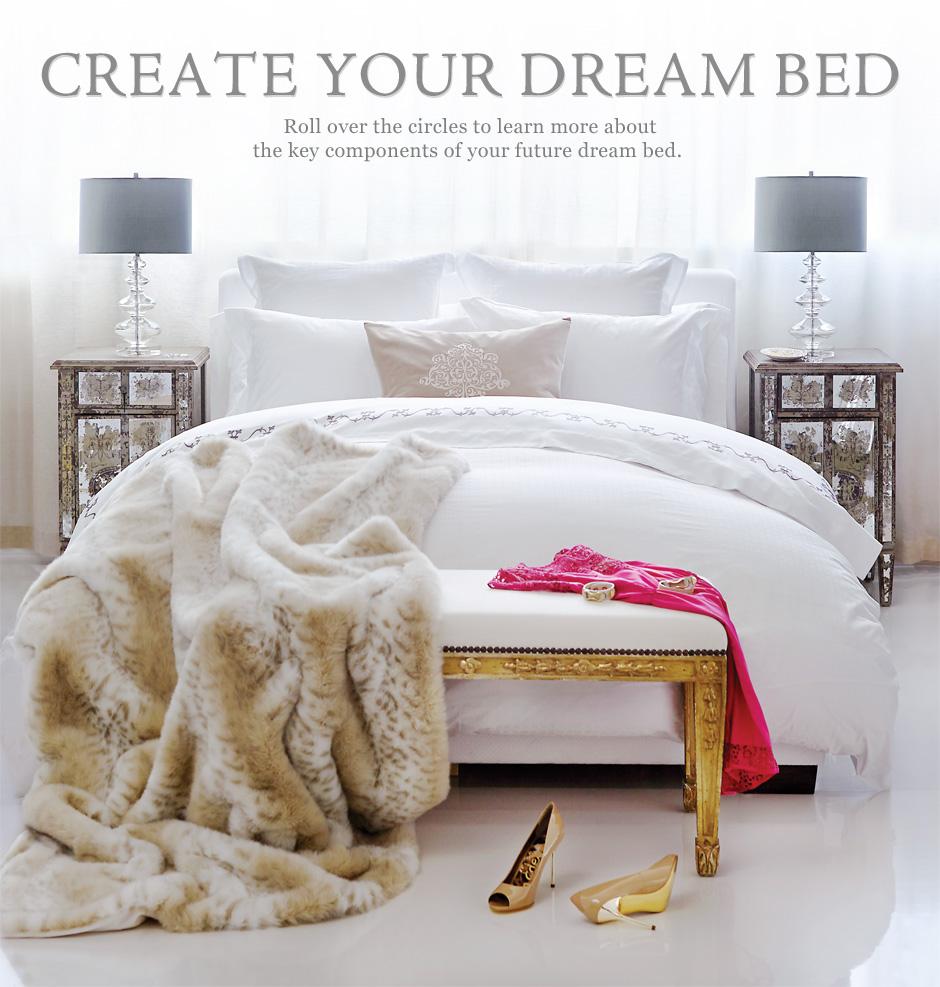 Create Your Dream Bed Au Lit Fine Linens